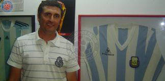 Argentinos Juniors: Carlos Mayor en el Museo del club