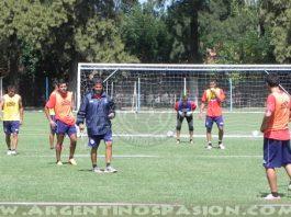Argentinos Juniors: Práctica en la UTA