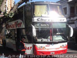 Argentinos Juniors fleta micros a Santa Fe