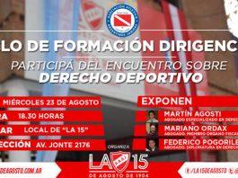 'Argentinos Juniors', 'los Bichos', 'Los Bichitos', Bicho, 'La Paternal, 'Semillero del Mundo', 'Formación Dirigencial', 'Derecho Deportivo'